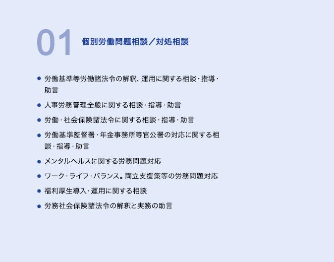 01個別労働問題相談/対処相談